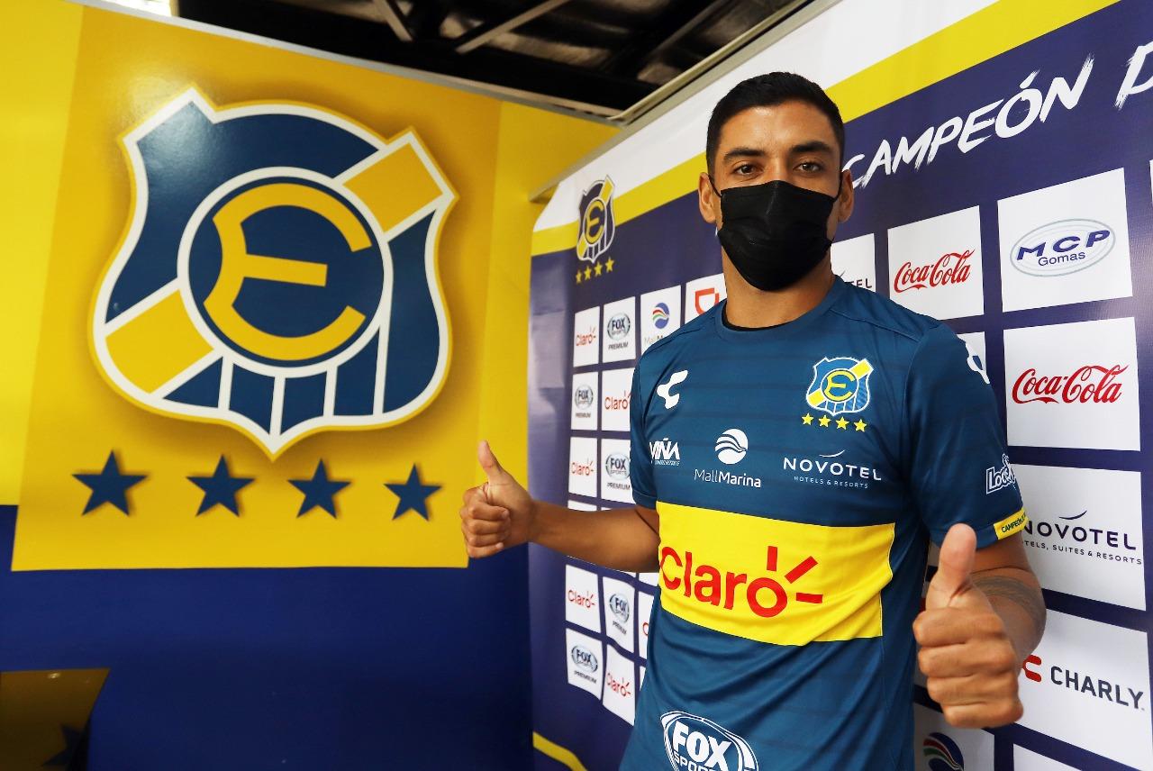 Matías Campos es presentado como nuevo refuerzo Oro y Cielo para esta temporada