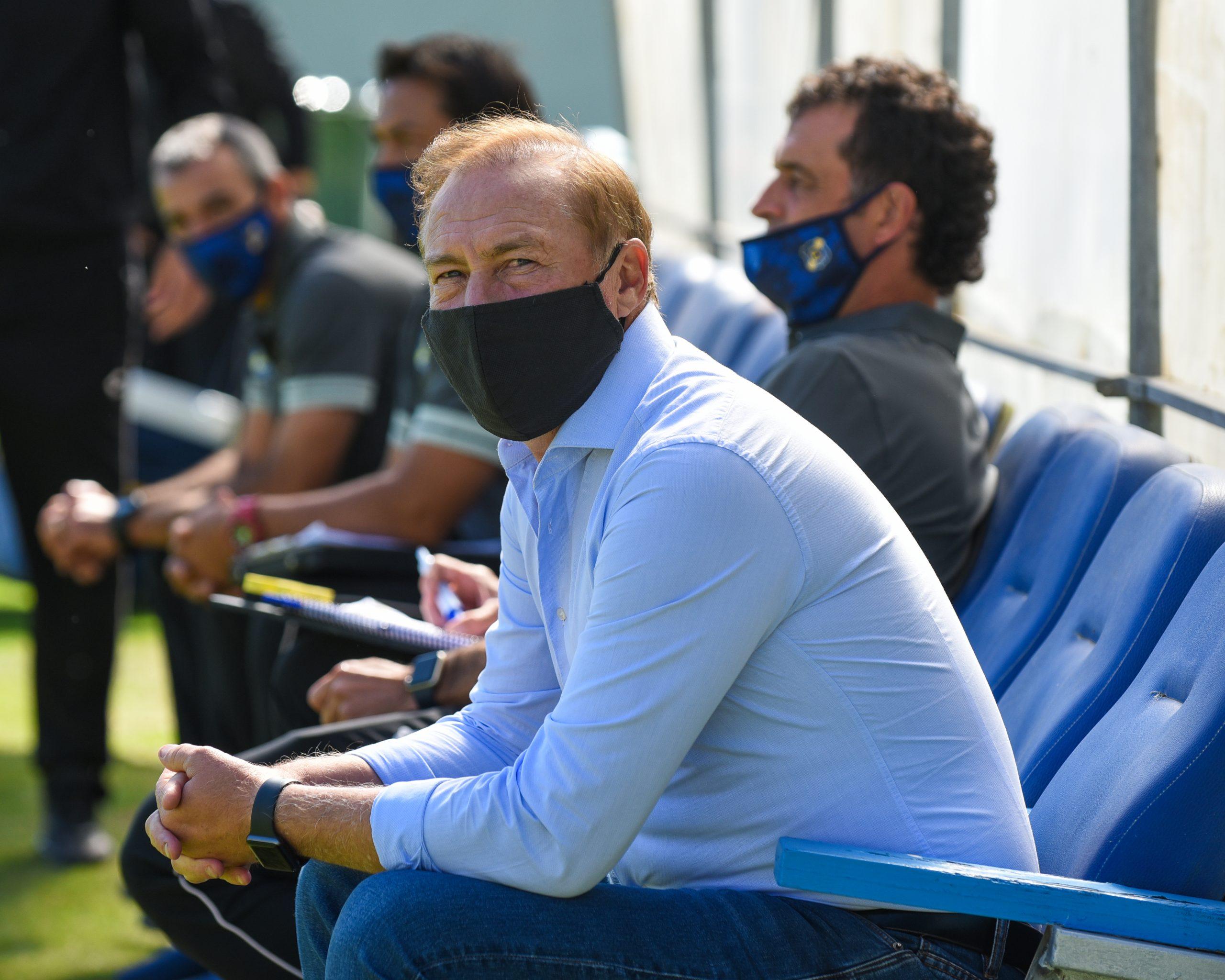 """Roberto Sensini: """"Iremos con todas las ganas de jugar mejor y quedarnos con la victoria"""""""