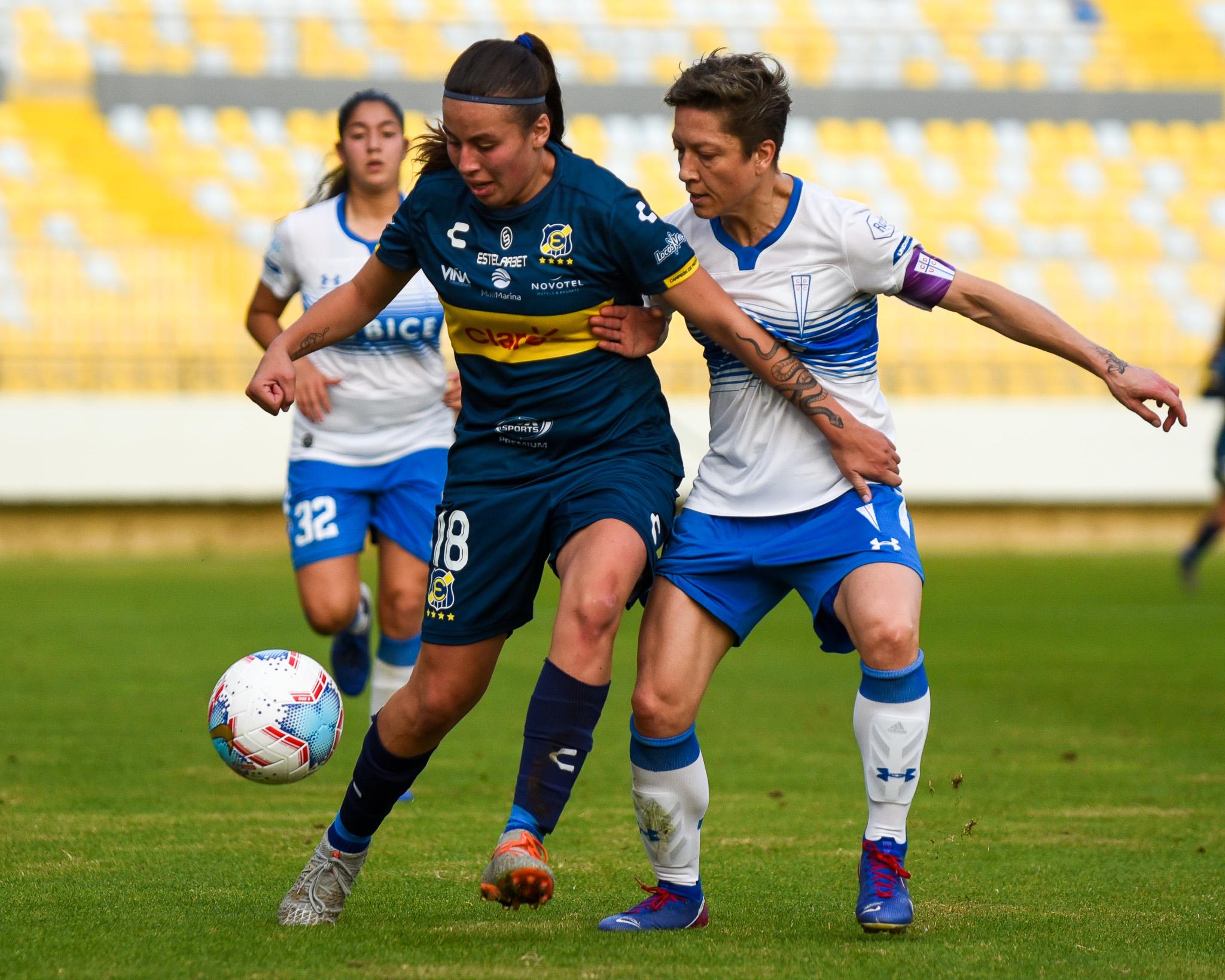 Everton Femenino cae ante Universidad Católica en el debut en Sausalito